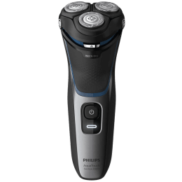 Philips AquaTouch Shaver 3100 Self-sharpening Blades Cordless Wet & Dry Shaver (Pop-up trimmer, 40 Min Run Time/10h Charge, S3122/55, Black)_1