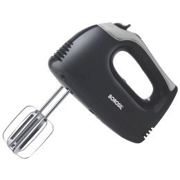 Borosil Smartmix 300 Watts Hand Mixer (2 Attachments, BHM30PBB11, White)_1