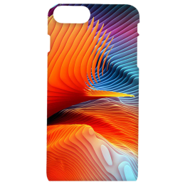 Cangaroo Colorful Abstract Polycarbonate Hard Back Case Cover for Apple iPhone 7 Plus/8 Plus (HD_i7P_Kri_022_ABTORG, Multicolor)_1