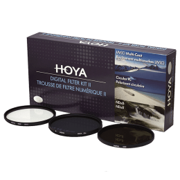 Hoya 67 mm HMC UV(C) Digital Lens Filter Kit with Pouch (8 Filter Factor, 24066059000, Black)_1
