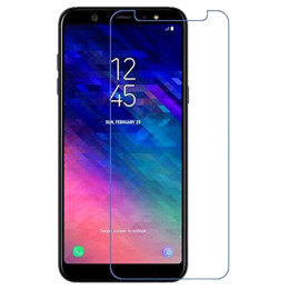 Catz Tempered Glass Screen Protector for Samsung Galaxy A6 Plus (CZ-SA6PS-TG0, Transparent)_1