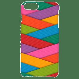 Cangaroo Cris Cross Colorful Strips Polycarbonate Hard Back Case Cover for Apple iPhone 7 Plus/8 Plus (HD_i7P_Kri_021_STRPCOL, Multicolor)_1