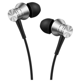 1MORE Piston Fit Earphones with MIC (E1009-SV, Silver)_1