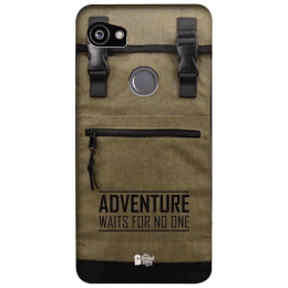 The Souled Store Adventure Backpack Polycarbonate Mobile Back Case Cover for Google Pixel 2 XL (80129, Brown)_1