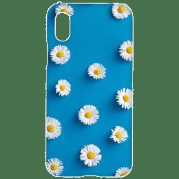 Cangaroo Sunflower Emboss Polycarbonate Hard Back Case Cover for Apple iPhone X/XS (HD_iX_Kri_008_SMLFLR, Blue)_1