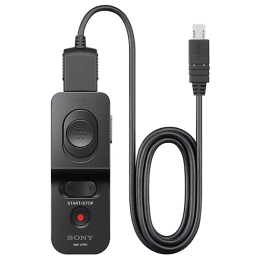 Sony Wired Remote Control with Multi-Terminal Cable For DSLR Cameras (Bulb Function, RM-VPR1//C CE7, Black)_1