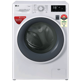 LG 6.5 Kg 5 Star Fully Automatic Front Loading Washing Machine (FHT1265ZNW.ABWQEIL, Blue White)_1