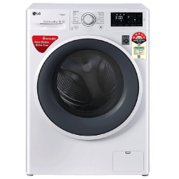 LG 6 Kg 5 Star Fully Automatic Front Loading Washing Machine (FHT1006ZNW.ABWQEIL, Blue White)_1