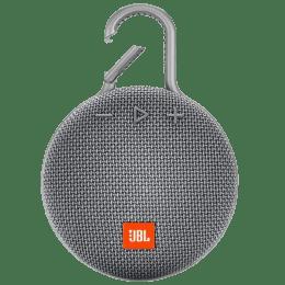 JBL CLIP 3 Portable Bluetooth Speaker (Grey)_1