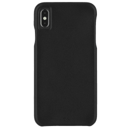 Case-Mate Barely There PU Leather Back Case Cover for Apple iPhone XS Max (CM037858, Black)_1