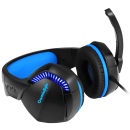 Cosmic Byte Over-Ear Wired Gaming Headset with Mic (H3, Blue)_1