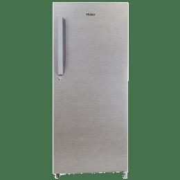Haier 220 L 4 Star Direct Cool Single Door Refrigerator (HRD-2204BS-E, Silver)_1