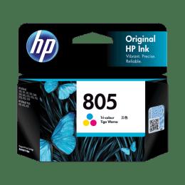 HP 805 Original Ink Cartridge (100 Page Yield, 3YM72AA, Tri-color)_1