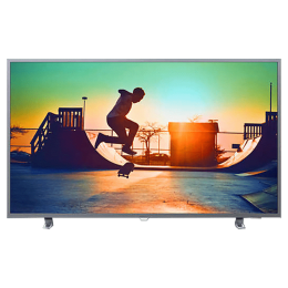 Philips 6700 Series 164cm (65 Inch) 4K Ultra HD LED Smart TV (Ambilight, 65PUT6703S, Silver)_1