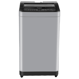Panasonic 7 kg 5 Star Fully Automatic Top Load Washing Machine (Built-In Heater, NA-F70BH9MRB, Middle Free Silver)_1