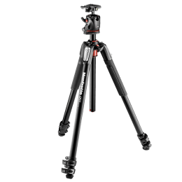 Manfrotto Adjustable 181.5 cm Tripod For DSLR Cameras (Up to 8 Kg, Quick Power Leg Locks, MK055XPRO3-BHQ2, Black)_1