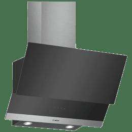 Bosch Serie 4 530 m³/hr 60cm Wall Mounted Chimney (DWK065G60I, Black)_1