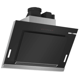 Bosch Serie 8 1600 m³/hr 90cm Wall Mount Chimney (Touch Control, DWS97BA62I, Black)_1
