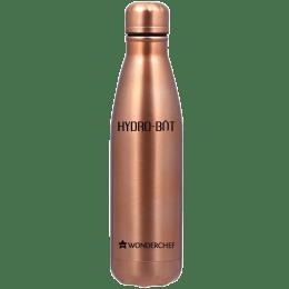 Wonderchef Hydro-Bot 1 Litre Bottle (Spill and Leak Proof, 63153145, Copper)_1