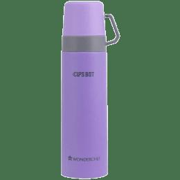 Wonderchef Cups-Bot 500 ml Double Wall Bottle (Vacuum Insulation, 63153229, Purple)_1