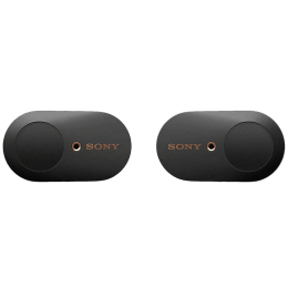 Sony In-Ear Truly Wireless Earbuds with Mic (Bluetooth 5.0, Dual Noise Sensor Technology, WF-1000XM3, Black)_1