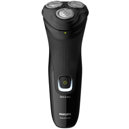 Philips AquaTouch Shaver 1200 Self-sharpening Blades Cordless Wet & Dry Shaver (Pop-up trimmer, 40 Min Run Time/10h Charge, S1223/45, Black)_1