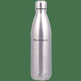 Wonderchef Hydro-Bot 1 Litre Bottle (Ergonomic Design, 63153144, Silver)_1