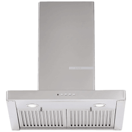 Bosch Serie 2 745 m³/hr 60cm Wall Mounted Chimney (DWB068D50I, Stainless Steel)_1