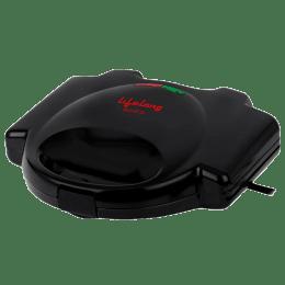 Lifelong 750 Watts 4 Slice Automatic Grill Sandwich Maker (Heat-resistant, LLSM115G , Black)_1