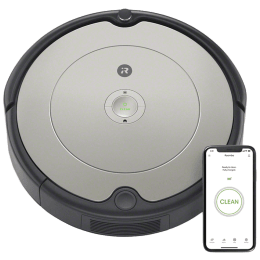 iRobot Roomba Robotic Vacuum Cleaner (698, Grey)_1