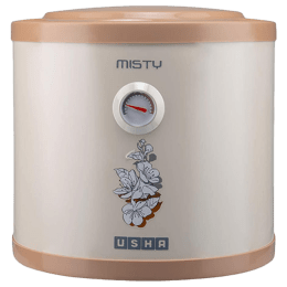 Usha 6 Litres Storage Water Geyser (2000 Watts, Misty, Ivory Cherry Blossom)_1
