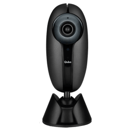 Qubo (Part of Hero Group) Smart Home CCTV Security Camera (Water Resistant, Alexa Enabled, HCM01, Black)_1
