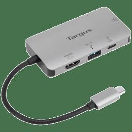 Targus 100 Watts USB-C 4K HDMI Docking Station (Portable, DOCK418AP, Grey)_1