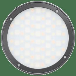Godox Round RGB Mini Creative Light for All Camera (Built-in Lithium Battery, R1, Black)_1