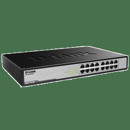 D-Link 16-Port Fast Ethernet Switch (DES-1016C, Black)_1