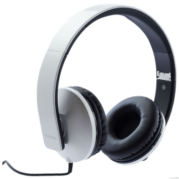 Toshiba Foldable Wired Headphone (RZE-D200H, White)_1