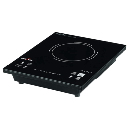 Kenstar Glaze Glass 2000 Watts Induction Cooktop (Touch Panel, KIGLA20KP5-DME, Black)_1