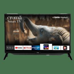 Croma 80cm (32 Inch) HD Ready Smart TV (Dual Box Speakers, CREL7363, Black)_1
