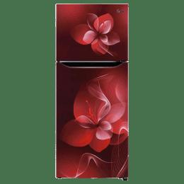 LG 260 Litres 2 Star Frost Free Inverter Double Door Refrigerator (Moist N Fresh, GL-N292DSDY.DSDZEB, Scarlet Dazzle)_1