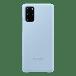 Samsung Galaxy S20 Plus Clear View Polycarbonate Flip Case Cover (EF-ZG985CLEGIN, Blue)_1