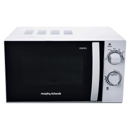 Morphy Richards 20MWS 20 Litres Solo Microwave Oven (Flexi Power Settings, 790019, White)_1