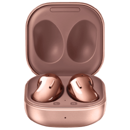 Samsung Galaxy Live In-Ear Truly Wireless Earbuds with Mic (Bluetooth 5.0, Quick Charging, SM-R180NZNAINU, Mystic Bronze)_1
