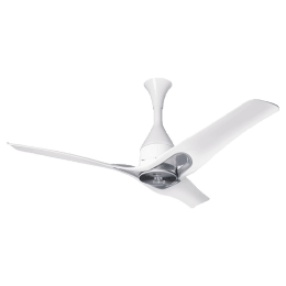 LG 120cm Sweep 3 Blade Ceiling Fan (Dual Wings for Natural Airflow, FC48GSSA1, Silver)_1