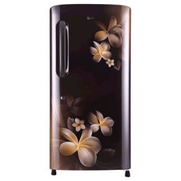 LG 215 Litres 4 Star Direct Cool Inverter Single Door Refrigerator (Smart Connect, GL-B221AHPY.DHPZEB, Hazel Plumeria)_1