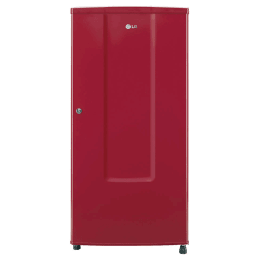 LG 185 Litres 2 Star Direct Cool Single Door Refrigerator (Fastest Ice Making , GL-B181RPRC.APRZEB, Peppy Red)_1