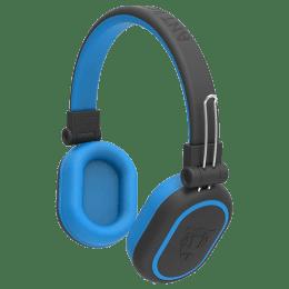 Ant Audio Treble Bluetooth Headphones (1200, Black and Blue)_1