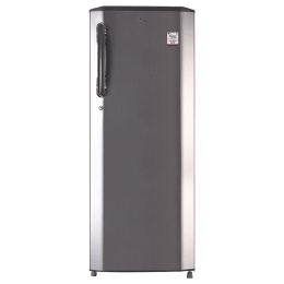 LG 270 Litres 3 Star Direct Cool Inverter Single Door Refrigerator (Smart Connect, GL-B281BPZX.DPZZEB, Shiny Steel)_1