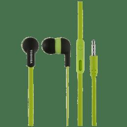 Toshiba In-Ear Wired Earphones with Mic (RZE-D81E, Green)_1