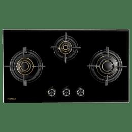 Hafele Corona 3 Burners Built-in Hob (378, Black)_1