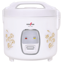 Kenstar My Shef 1.8 Litres Rice Cooker (KRMYS18W2S-CLD, White)_1